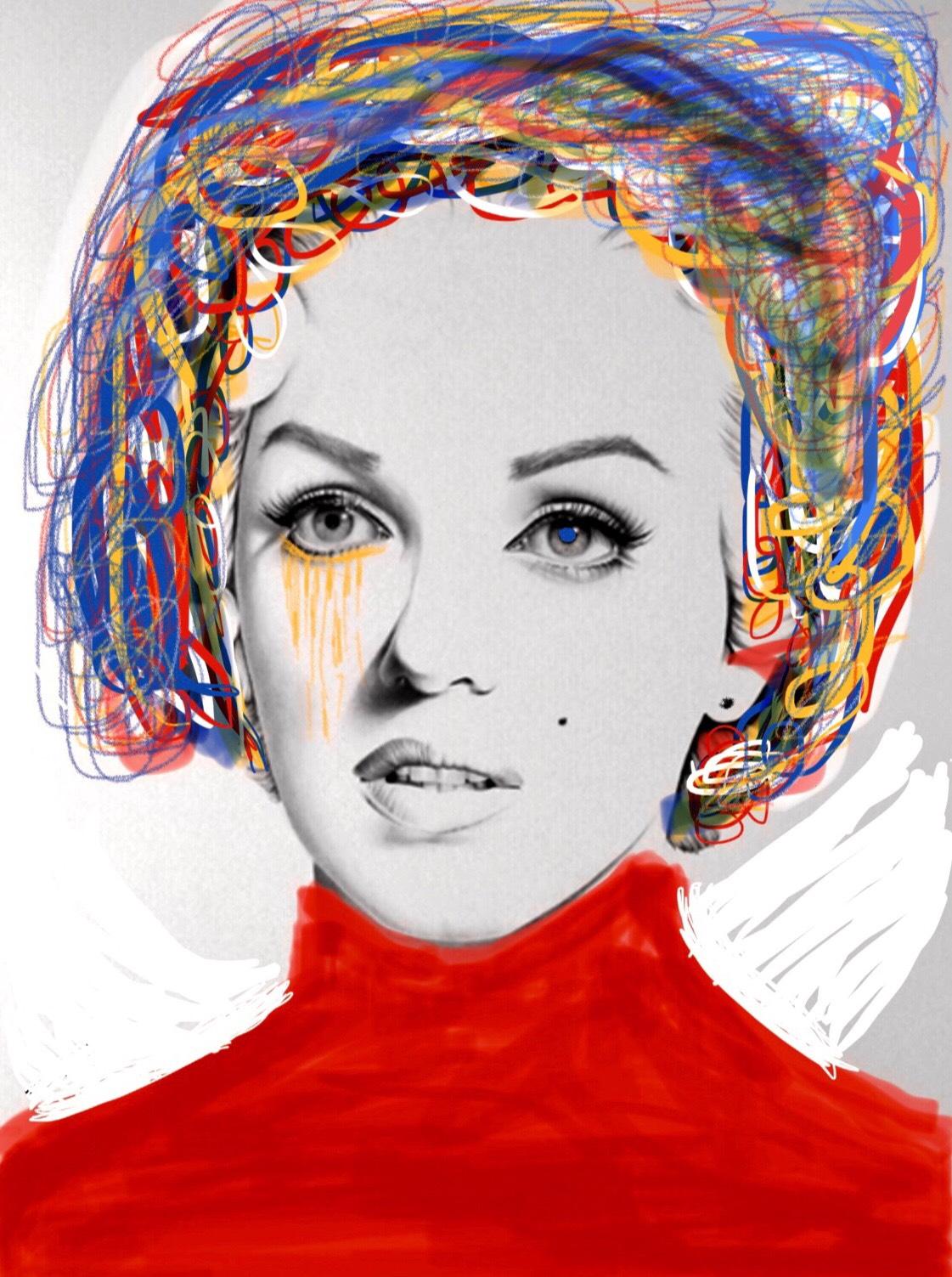 Ms. Brainwash dé Marilyn